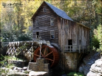 The Glade Creek Mill in Fayette County, WV.
