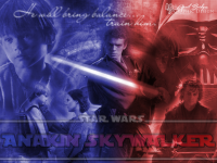 Desktop wallpaper featuring Anakin Skywalker from Star Wars | This was a request.