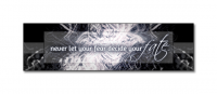Random banner creation, with text from ''Kill Your Heroes'' by AWOLNATION.