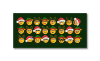 *NEW* Set of Christmas-themed emoticons for The Kingdom, used during the holiday season.