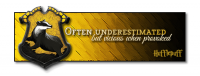 Inspired by the Hufflepuff house, from the Harry Potter series.