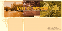 Original photoblog design for Eyes of Wonder.