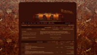 Proboards forum theme, version 3, titled: Cracked. [See it live @ crackyournuts.proboards.com]