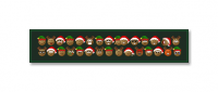 Set of Christmas-themed emoticons, used on CYN for the holiday season.