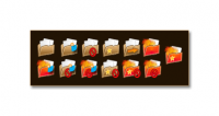 Proboards thread icon set for CYN, first draft (never used).