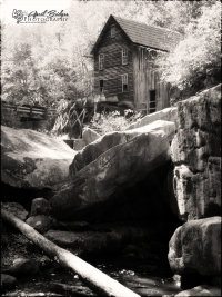 Another view of the Glade Creek Mill.